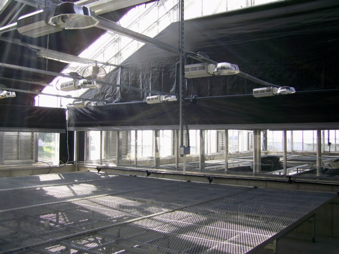 Nexus Greenhouse Systems Interior Energy Shade Curtain