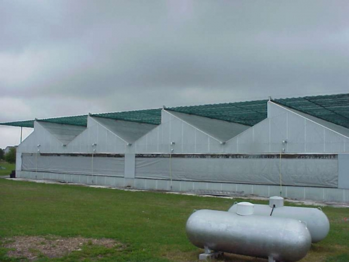 Nexus Greenhouse Systems Exterior Shade Curtain Systems