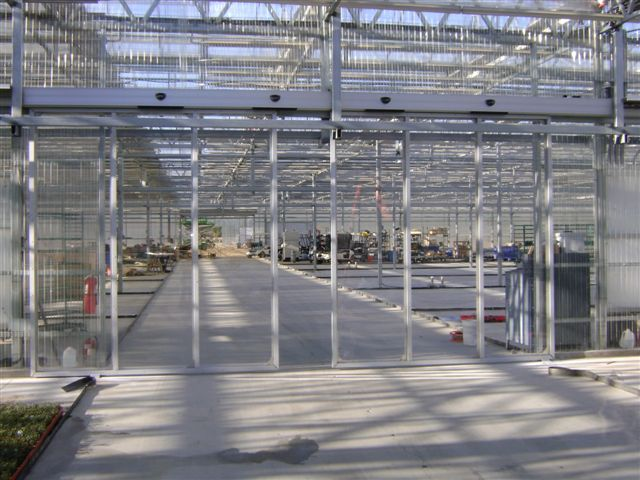 & Nexus Greenhouse Systems :: Automatic Doors
