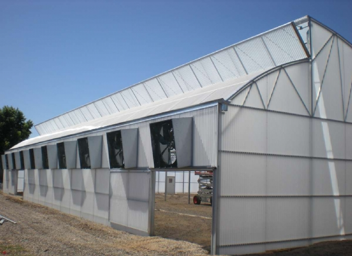 Nexus Greenhouse Systems Natural Ventilation Roof Vents
