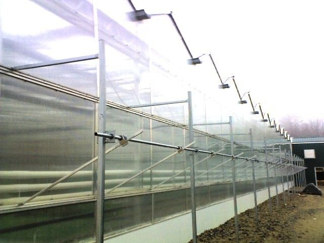 Rack And Pinion >> Nexus Greenhouse Systems :: Natural Ventilation - Side Vents