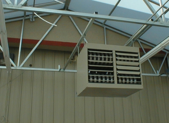 Nexus Greenhouse Systems Forced Air Heaters