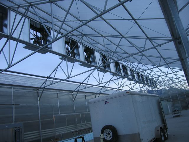 Nexus Greenhouse Systems Mechanical Ventilation