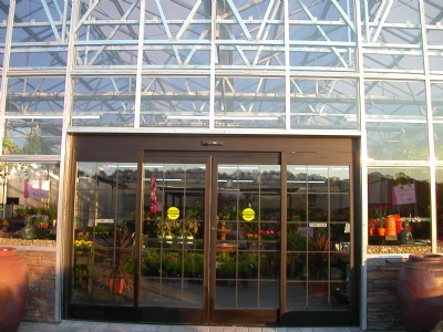 Nexus Greenhouse Systems Automatic Doors