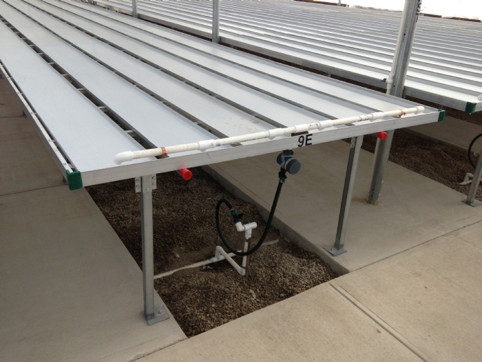 Nexus Greenhouse Systems Fixture Trough Watering Benches