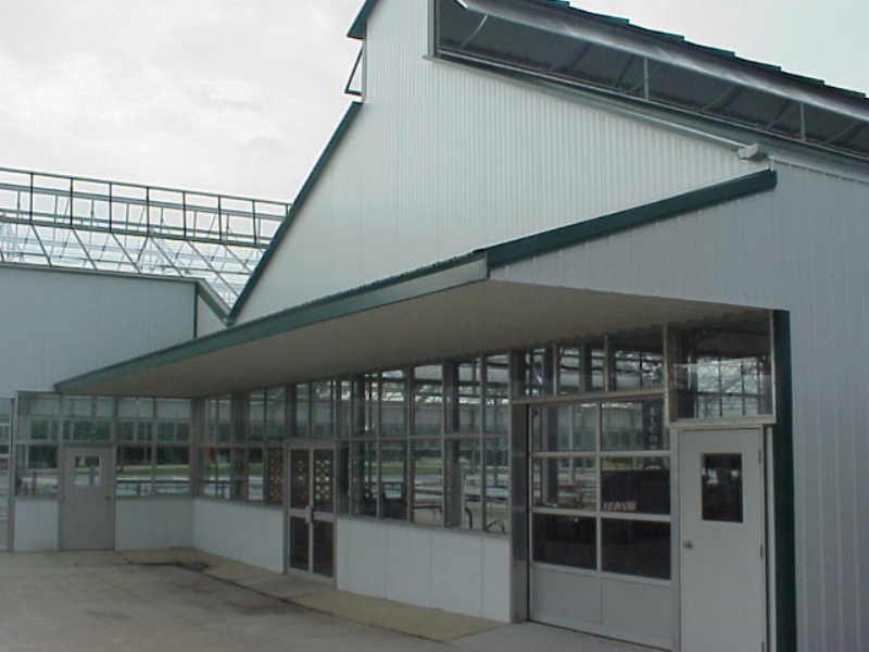 Nexus Greenhouse Systems Structures Steel Utility