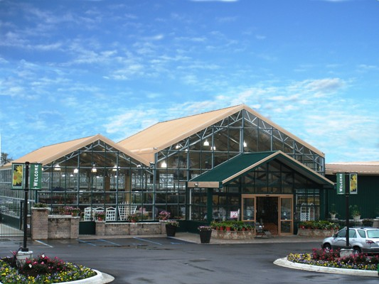 Nexus greenhouse systems markets retail garden centers for Garden center designs