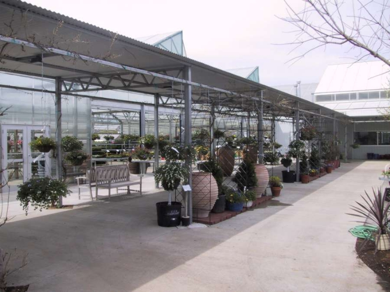 In 2012, They Added Growing Greenhouses To Their 25,000 Sq. Ft. Garden  Center. The Covered Walkway Provides A Perfect Shopping Area For Their  Customers.